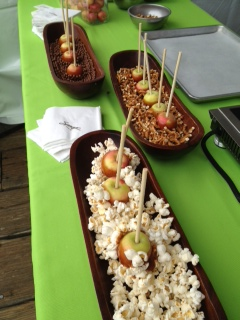 Wickson caramel apples